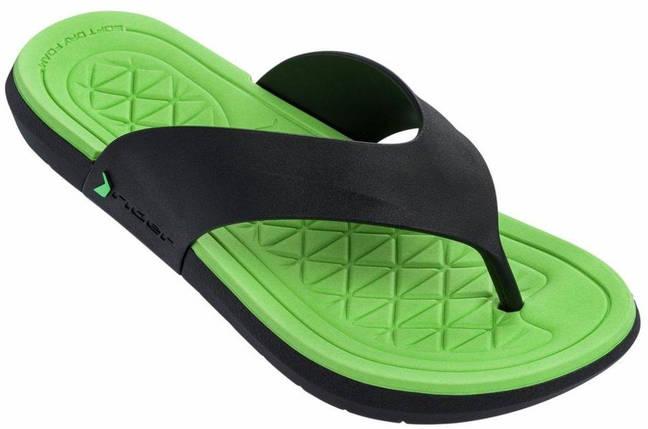 Оригинал Шлепанцы мужские 82495-21675 Rider Infinity II Thong man slipper black/green Зеленые 2019, фото 2