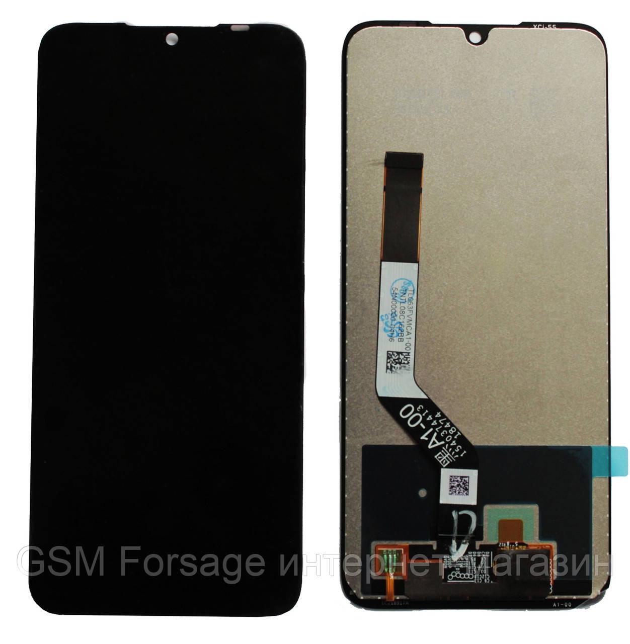 Дисплей Xiaomi Redmi Note 7 complete Black