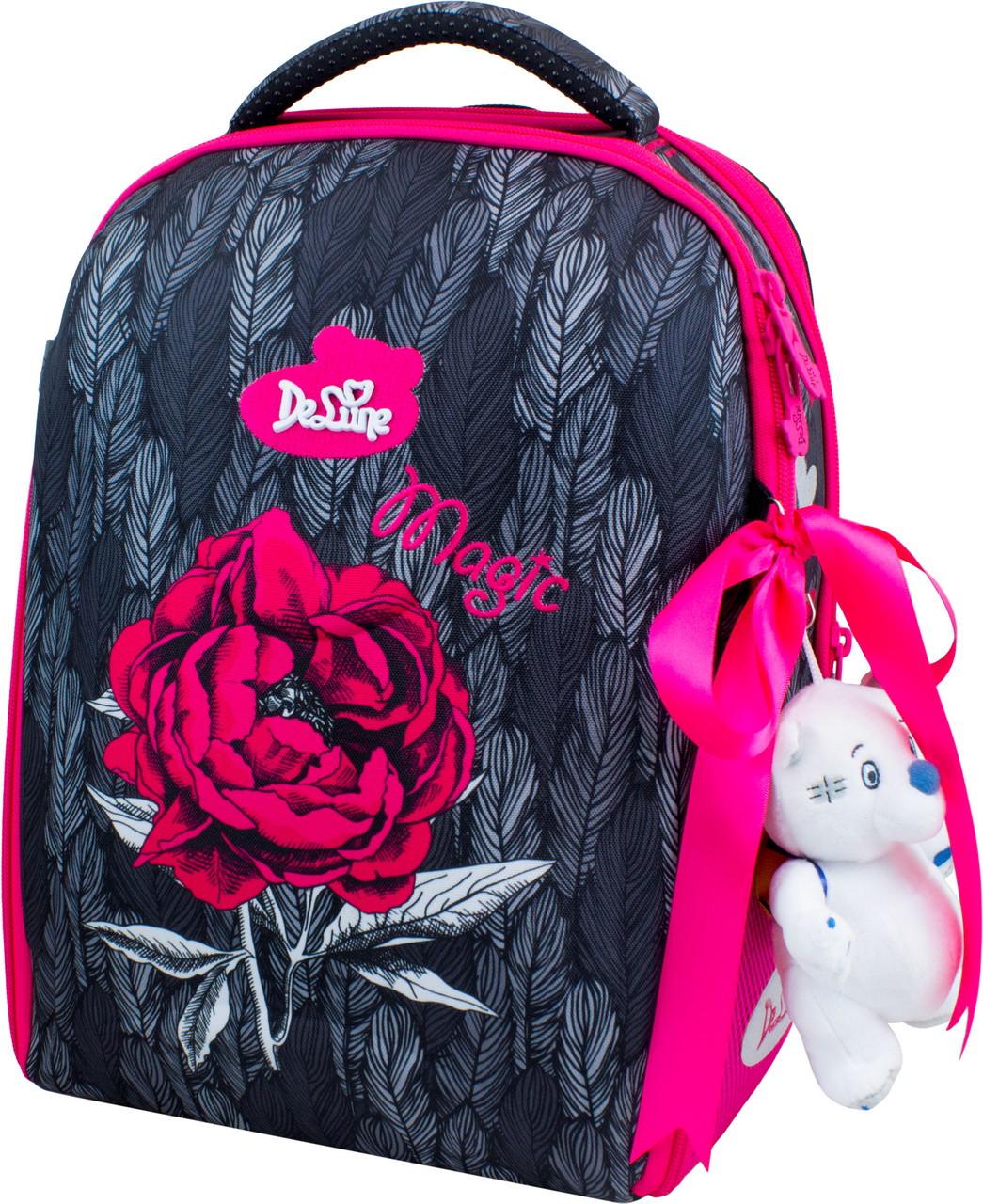 Рюкзак школьный каркасный с наполнением DeLune 7-149