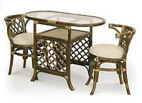 Мебель из ротанга. Комплект 2 стула и стол.