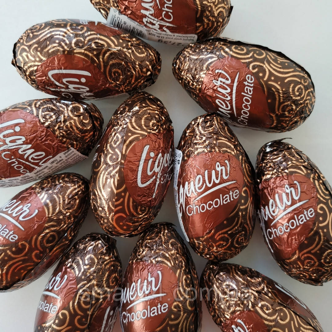 Шоколадные конфеты (крашанки) с шоколадным ликером Figaro Чехия 27,5г