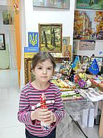 Кукла-мотанка с элементами выбийки, фото 1