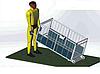 Весы для индивидуального взвешивания свиней Axis 4BDU-600Х-Б, НПВ: 600 кг