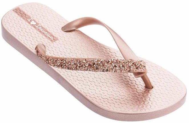Оригинал Вьетнамки Женские 82685-24174 Ipanema Glam Special woman slipper rose/rose 2019, фото 2