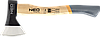Топор 1000 г Neo 27-010 рукоятка из гикори