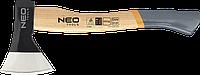 Топор 1000 г Neo 27-010 рукоятка из гикори, фото 1