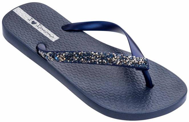 Оригинал Вьетнамки Женские 82685-20729 Ipanema Glam Special woman slipper blue/blue 2019, фото 2