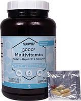 Vitacost Synergy 3000  витамины, минералы, экстракты-все что можно 180 капсул + 120 ЖК