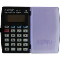 Калькулятор Eates DC104 (8разр., с крышкой, питание-батарейка)