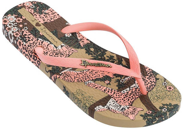 Оригинал Вьетнамки Женские 82684-24211 Ipanema Summer II woman slipper beige/pink, фото 2