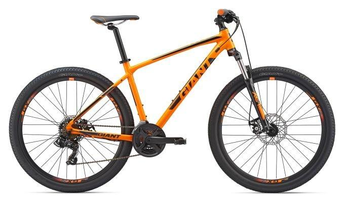 """Горный велосипед Giant ATX 2 27.5"""", оранжевый M (GT)"""