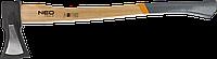 Топор-колун 2000 г Neo 27-019 рукоятка из гикори, фото 1