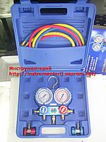 Манометрический коллектор VMG-2-R134 A-B + муфты (Value) в чемодане