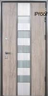 Двери уличные со стеклопакетом, STRAJ Proof, модель STREAM, комплектация Proof Standard Hook, MUL-T-LOCK 352k