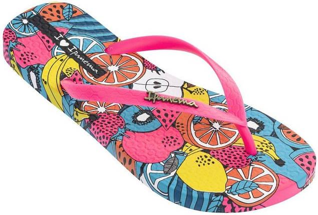 Оригинал Вьетнамки Женские 82684-20755 Ipanema Summer II woman slipper white/pink, фото 2