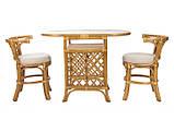 Мебель из ротанга. Комплект 2 стула и стол., фото 3