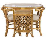 Мебель из ротанга. Комплект 2 стула и стол., фото 4
