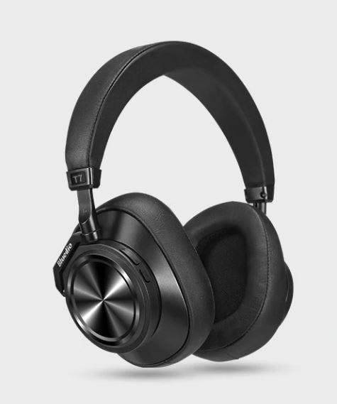 Наушники Bluedio T7  Bluetooth Black с микрофоном