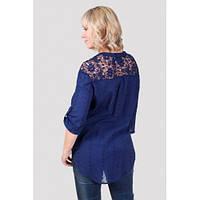 Красивые модели блузок  для полных женщин , фото 1
