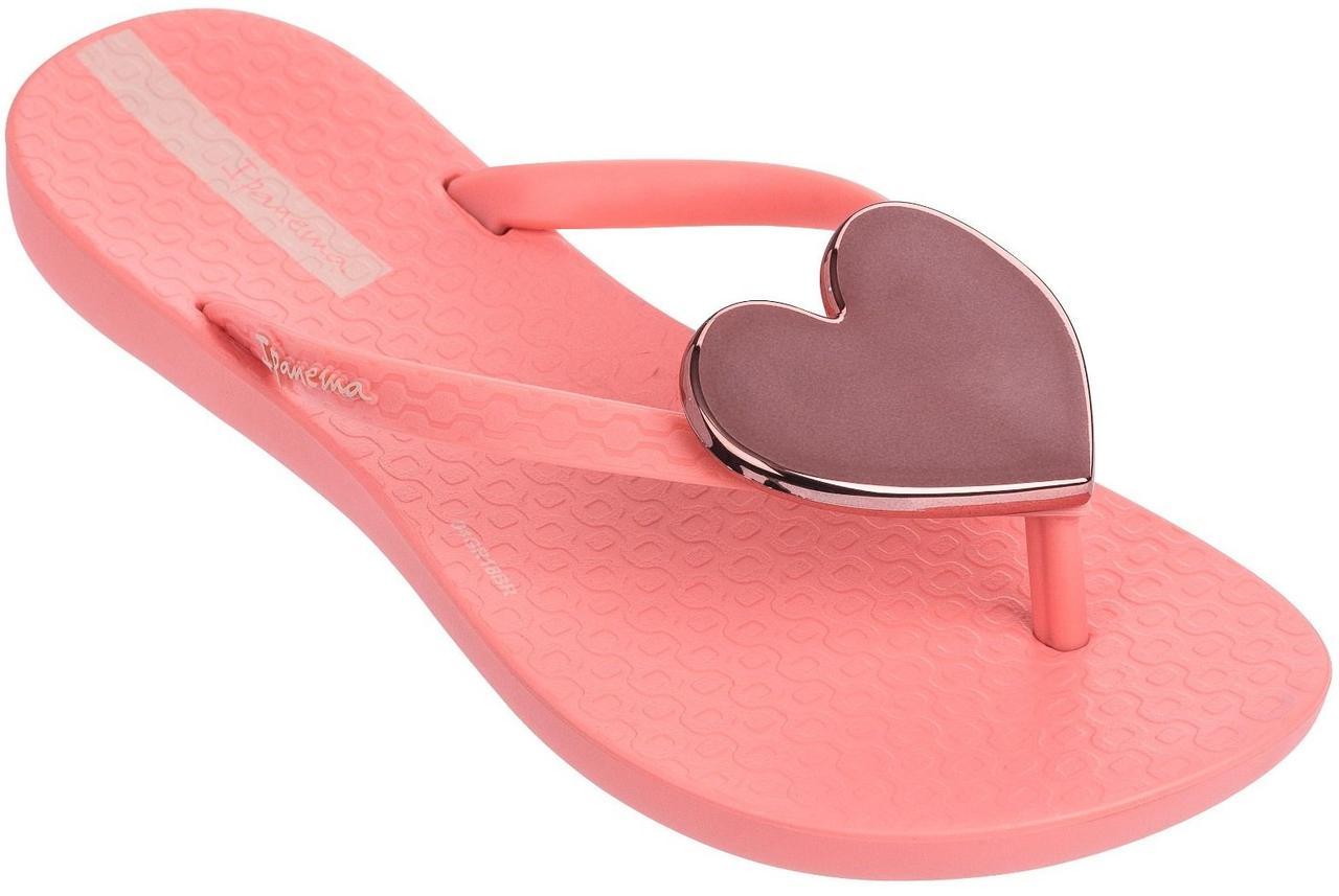 Оригинал Вьетнамки Детские для девочки 82598-24729 Ipanema Maxi Fashion Kids slipper pink/pink/rose 2019