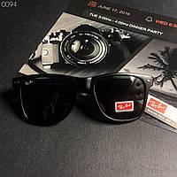 Стильные солнцезащитные очки в стиле Ray Ban Wayfarer