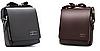 Мужская сумка барсетка через плечо Kangaroo kingdom коричневый цвет