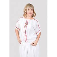 Красивая блуза с ручной вышивкой