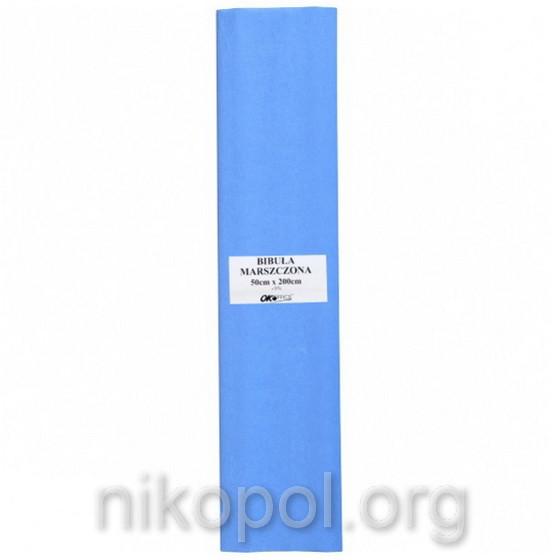"""Бумага гофрированная """"OK Office"""" 50х200см., светло-голубая (№18)"""