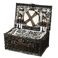 Корзина для пикника на 4 персоны + сумка-холодильник (024PPN), фото 1