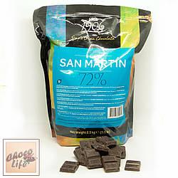 Чорний шоколад San Martin 72% 100г. Casa Luker, Колумбія