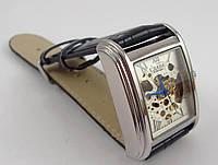 Мужские часы Слава Созвездие GA07071 скелетон черные наручные механика автоподзавод