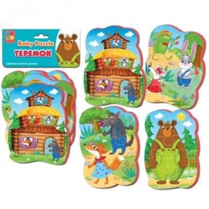 Бебі пазли 1106-64 Теремок (Vladi Toys), фото 2