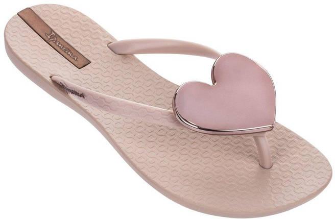 Оригинал Вьетнамки Женские 82120-24729 Ipanema Maxi Fashion II woman slipper pink/pink/rose 2019, фото 2