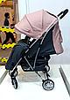 Легкая Прогулочная коляска CARRELLO Gloria +дождевик Coral Pink, фото 9