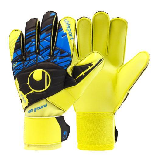 Вратарские перчатки Uhlsport Speed Up Now Soft Pro (101103301) Оригинал