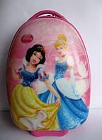 """Детский чемодан 16"""" на колесах Белоснежка и Золушка (Принцессы Дисней)"""