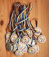 Медали для детей Калинка, 58мм