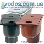 Дождеприемник с отводом вниз Серый 1820 ZMM Maxpol - Бокс водосточный