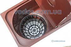Дощоприймач з відведенням вниз Сірий 1820 ZMM Maxpol - Бокс водостічний, фото 2
