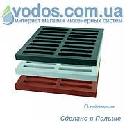 Решетка дождеприемника 300х300х300 ZMM Maxpol 1775 Серый, 1776 Коричневый, 1783 Черный