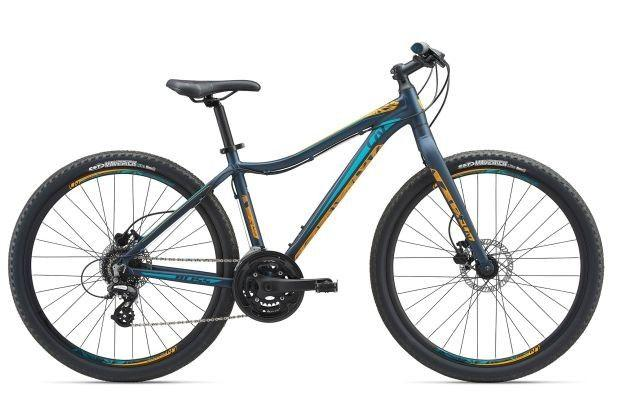 "Горный велосипед Giant Liv Bliss Lite 1 27,5"", темно-синий M (GT)"