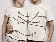 Парные футболки Связанные, фото 1