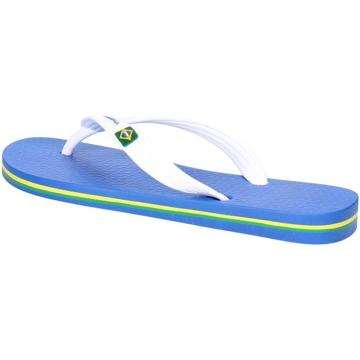 Оригинал Вьетнамки Женские 80408-24079 Ipanema Classica Brasil II woman slippe blue/white 2019