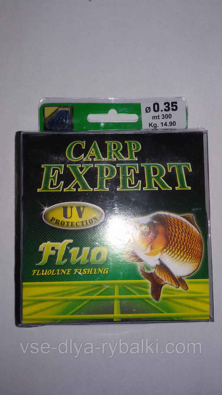 Леска Carp Expert 300 м 0,3 мм fluo