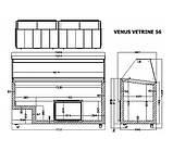 Витрина для мягкого мороженого Crystal VENUS VITRINE 56, фото 2
