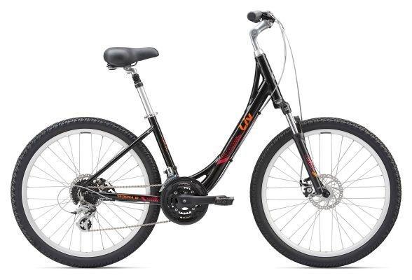 Городской женский велосипед Giant Sedona Liv DX W, черный S/16 (GT)