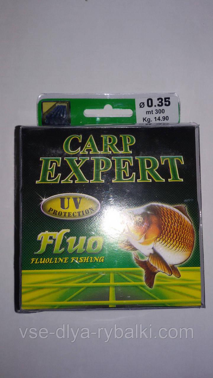 Леска Carp Expert 300 м 0,4 мм fluo
