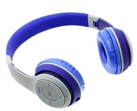 Наушники беспроводные Havit H2575BT grey/blue