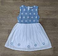 """Платье для девочки на 3/4-4/5-5/6-6/7-7/8 лет """"F&D"""" Венгрия"""