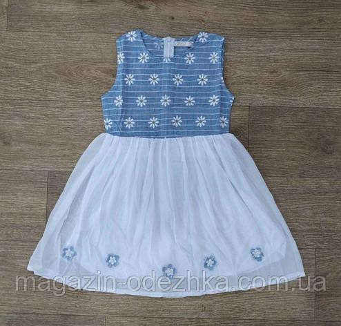 """Платье для девочки на 3/4-4/5-5/6-6/7-7/8 лет """"F&D"""" Венгрия, фото 2"""